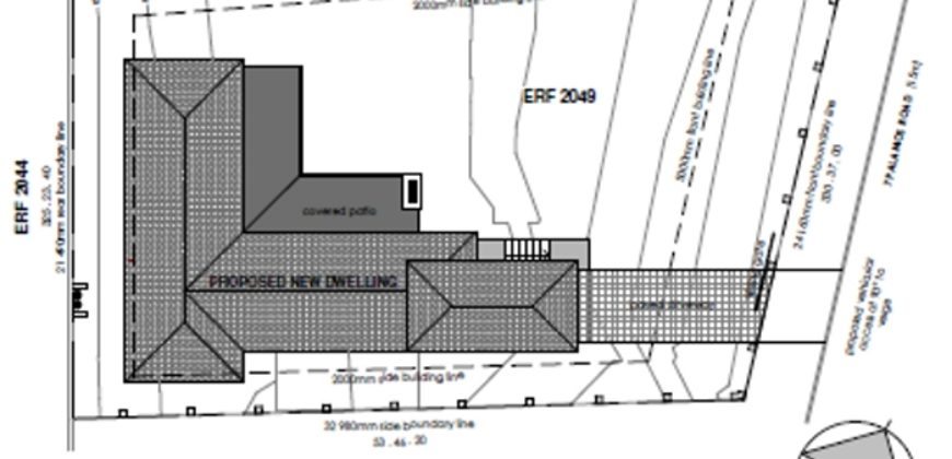 ERF 2049 – Santareme Plot & Plan